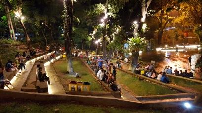 A lovely park in Bogor, Indonesia.